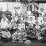 Baptist Mission school c1912 the year before Ray was born.