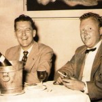 Ray with Frank Smith at the Celebrity Club in Sydney c1950's