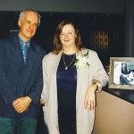 Annabel & Roger Woodward after Sydney Spring Festival 1996