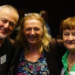 Graeme Dudley, Annabel Gleeson & Sandra Ridgewell at the Symposium