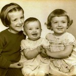 Marcelle, Sally and Annabel 1962