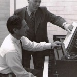 Ray Hanson with Igor Hmelnitsky at the Con possibly working on the Piano Sonata