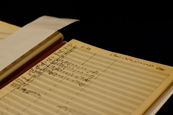 Original manuscript of the Immortal Touch