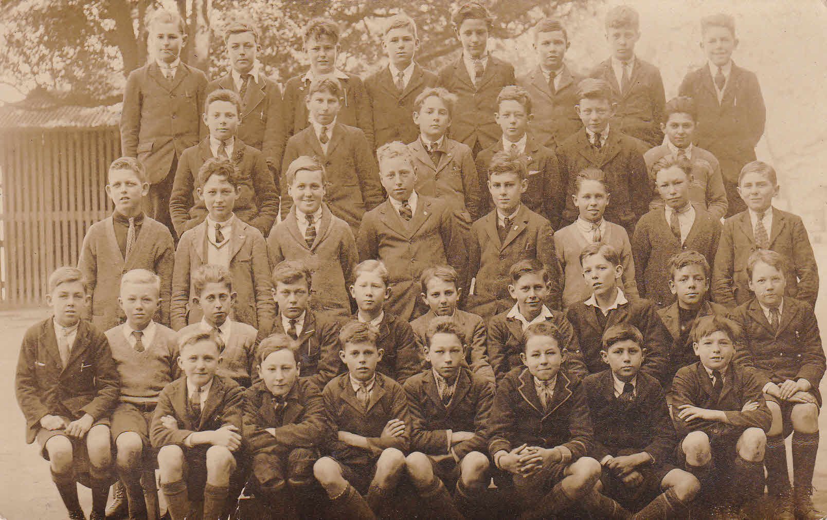 RCH Fort St Boys high c 1922-3